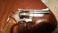 Smith and Wesson model 29-3  Nickel 4 inch barrel