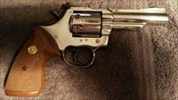Colt Trooper. 357 MK.  l l l. Nickel  Revolver