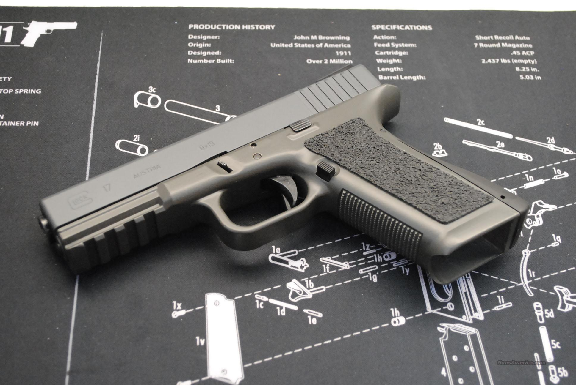 Glock 17 with CCF Aluminum Frame for sale
