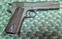 Colt GOVERNMENT Model 1911, Dated 1918