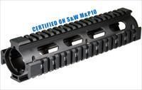 UTG PRO AR Style Model 308 2Piece Drop-in Mid Length Quad Rail System