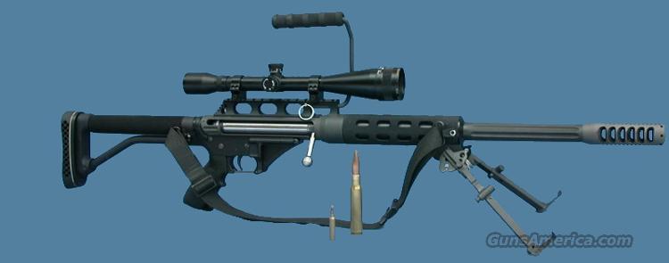 D P M S AR-15 vrs (single shot complete lower)  50BMG convertable