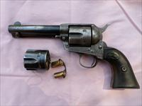 "Colt Single Action, 1st Gen. 45 Cal. 4 3/4"" Bl. 1902,extra cyl"