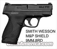 SMITH&WESSON M&P SHIELD 9MM 7/8 RD NEW IN BOX NO CREDIT CARD FEES, YOU WILL LOVE THIS GUN.
