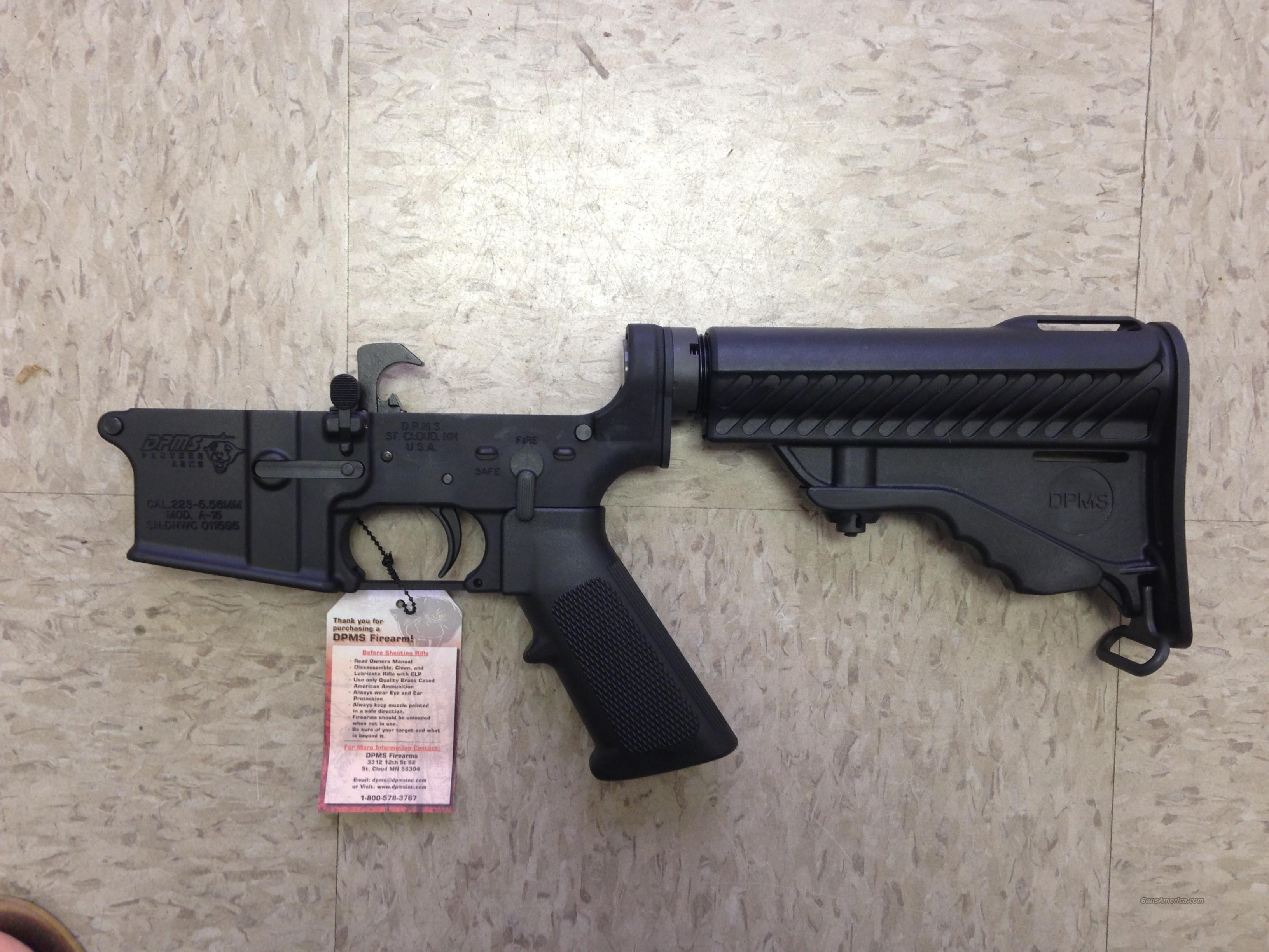 dpms panther ar 15 complete lower receiver for sale rh gunsamerica com dpms panther arms model a-15 owners manual DPMS AR-15 Accessories