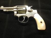 S&W Revolver 3rd Model w/Pearl Handles and Nickle - *  REDUCED!!