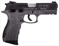 Taurus 809 9MM BL/GREY 4 17+1 1-809041G