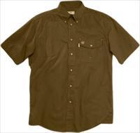 Beretta Shooting Shirt Small - Short Sleeve Cotton Brown<