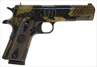 "Iver Johnson IVER JOHNSON 1911A1 BOA .45ACP 5"" FS 8RD SNAKESKIN GIJBOA"