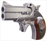 "BOND ARMS BOND ARMS COWBOY DEFENDER .44SW SPL 3"" FS STAINLESS WOOD"