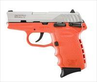 SCCY Industries CPX-1 9MM SS/ORANGE 10+1 SFTY ORANGE POLYMER FRAME