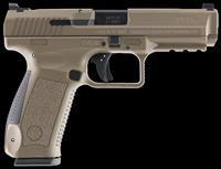 "Century HG4070DN TP9SF Special Forces Double 9mm Luger 4.46"" 18+1 Black Interchangeable Backstrap"