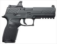 "Sig Sauer 320F9BSSRX10 P320 Full Size RX Double 9mm Luger 4.7"" 10+1 Black Polymer Grip Black Nitron"