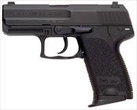 "HK 704031A5 USP40C V1 *CA Compliant* Single/Double 40 Smith & Wesson (S&W) 3.58"" 10+1 Black Polymer"