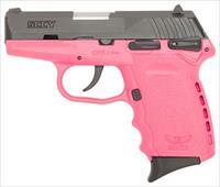 SCCY SCCY CPX1-CB PISTOL DAO 9MM 10RD BLACK/PINK MANUAL SAFETY