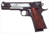 "Iver Johnson IVER JOHNSON 1911A1 EAGLE .45ACP 5"" ADJ 8RD BLUED"