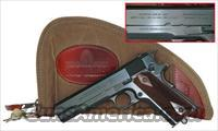 BROWNING 1911 051807498 .45ACP FIXED SIGHTS, BLACK, 100 YRS 1911 US ARMY Commemorative *ONE of only 40* 45 ACP New
