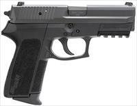 "Sig Sauer SP20229BSSCA SP2022 Full Size *CA Compliant* Single/Double 9mm Luger 3.9"" 10+1 Black"