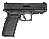 "SF XD SERVICE .45ACP 4"" FS 13-SHOT BLACK/BLACK ESSENTIALS XD9611HC"