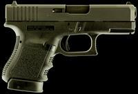 "Glock PI3650201FGR G36 Subcompact with Light Rail Double 45 Automatic Colt Pistol (ACP) 3.77"" 6+1"
