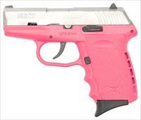 SCCY SCCY CPX2-TT PISTOL DAO 9MM 10RD SS/PINK W/O SAFETY