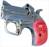 "Bond Arms BAMB Mama Bear 357 Mag/38 Special Derringer Single 357 Magnum 2.5"" 2 Round Stainless Steel"