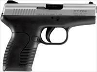 "TAURUS 709 SLIM 9MM 3.2"" FS 7-SHOT STAINLESS/BLACK POLYMER 1709039"
