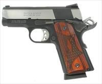 Smith and Wesson SW1911 PRO 45ACP TWO-TONE 3 178052  PRO SERIES 178052