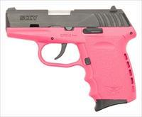 SCCY SCCY CPX2-CB PISTOL DAO 9MM 10RD BLACK/PINK W/O SAFETY