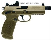 FN FNX-45 TACTICAL 45ACP FDE 15+1 THREADED BARREL/NIGHT SIGHTS 66968