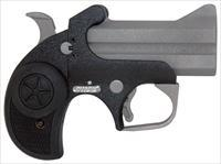 "BOND ARMS TEXAS BACKUP 3"" BBL. .45LC/.410-2.5"" SS/BLK RUBBER GBATB410"