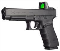 "Glock UG4130101MOS G41 Gen 4 Competition MOS 45 ACP Double 5.31"" 10+1 Black Interchangeable"
