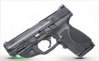 Smith and Wesson MP9 M2.0 CMPCT 40SW GRN LASER 12415|CT GREEN LASER|NO SAFETY