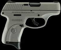 "Ruger 3252 LC9s Double 9mm Luger 3.12"" 7+1 3-Dot Savage Stainless Cerakote Grip/Frame Grip Savage"