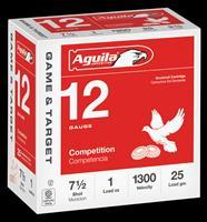 Aguila Competition, Aguila 1chb1327 12ga Std   7.5  1 Oz      25-10