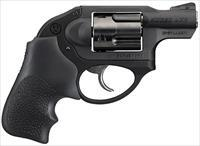 "Ruger 5456 LCR DAO Double 9mm Luger 1.87"" 5 rd Black Hogue Tamer Monogrip Grip Black"