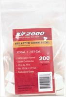 Slip 2000 Cleaning Patches - Square .17-.177 .75 200-pack