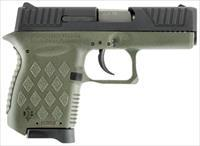 "Diamondback DB9ODG DB9 Micro-Compact Double 9mm Luger 3"" 6+1 OD Green Polymer Grip/Frame Grip Black"