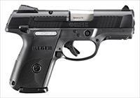 Ruger RUGER SR9C COMPACT 9MM LUGER AS 17-SHOT BLUED/BLACK SYN  * BSR9C