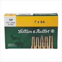 Sellier & Bellot 8x57jr 196 Gr Sp 20-bx