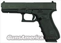 GLOCK 22 .40SW GEN4 FIXED SIGHTS 15-SHOT BLACK