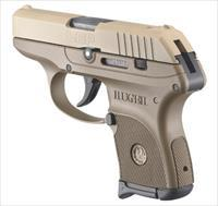 Ruger LCP 380ACP FULL FDE 6+1 3742 COMES W/SOFT CASE  1 MAG