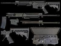 Windham Weaponry RMCS2 Multi-Caliber Rifle Semi-Automatic 223 Remington/300 AAC Blackout Black