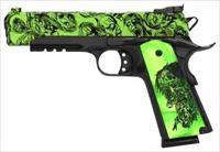 "Iver Johnson IVER JOHNSON 1911A1 EAGLE LR ZOMBIE .45ACP 5"" ADJ 8RD GIJ15"