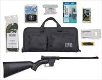 "Henry H002BSGB U.S. Survival Pack Semi-Automatic 22 Long Rifle (LR) 16.125"" 8+1 Synthetic Black Stk"