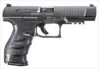 "Walther Arms 2813734 PPQ M2 Double 9mm Luger 5"" 15+1 Black Polymer Grip/Frame Grip Black Tenifer"