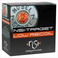 Nobelsport Ammo Low Recoil - 12ga. 1200fps. 1oz. #8 25-pk*