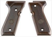 Beretta 92-96 Grips Wood - Walnut With Medallion