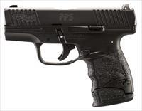 "Walther Arms 2805961 PPS M2 Single/Double 9mm Luger 3.18"" 7+1 Black Polymer Grip/Frame Grip Black"