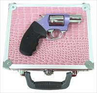 "CHARTER ARMS CHIC LADY .38SP+P 2"" FS SS LAVENDER SYN W/CASE 53849"